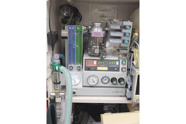 横浜 金沢区の動物病院 マーサ動物病院 医療設備 麻酔器