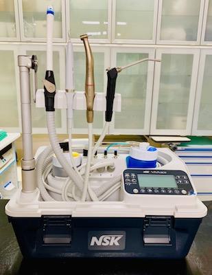 横浜 金沢区の動物病院 マーサ動物病院 医療設備 歯科ユニット